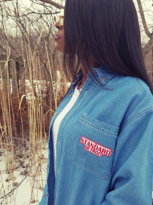The Standard - Denim Button -Up - The Standard Detroit